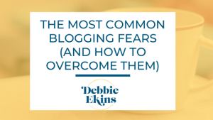 common blogging fears